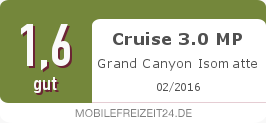 Testsiegel: Cruise 3.0 MP Grand Canyon Isomatte