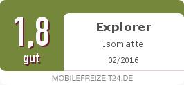 Testsiegel: Explorer Isomatte