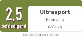Testsiegel: Ultrasport Isomatte