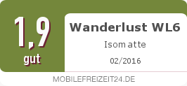 Testsiegel: Wanderlust WL6 Isomatte